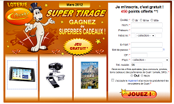 instant gagnant